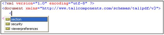 Visual Studio NET XML Intellisense