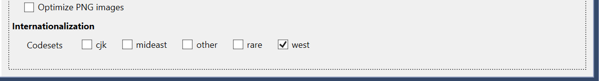 Codepage West