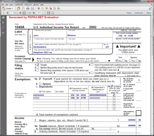 Flatten PDF New